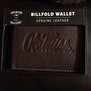 Handbags - Ole miss bill fold
